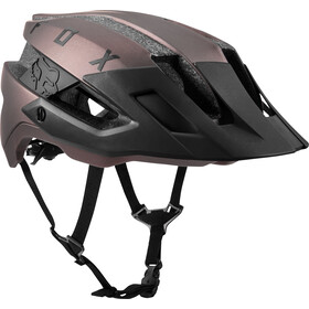 Fox Flux Solid Casco Trail Hombre, black iri